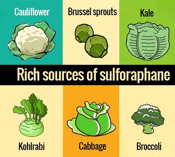 Rich sources of Sulforaphane