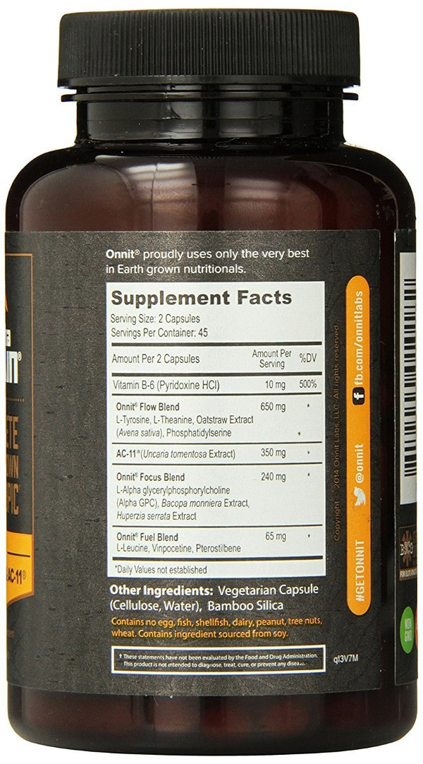 Alpha Brain supplement