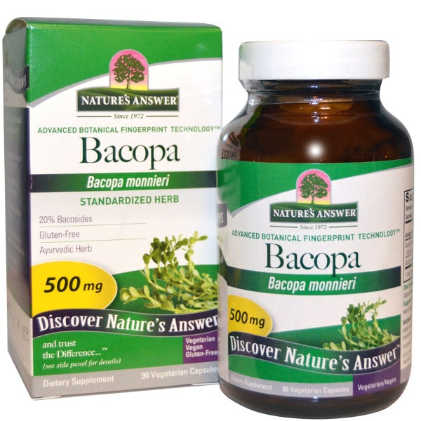 Bacopa relaxation