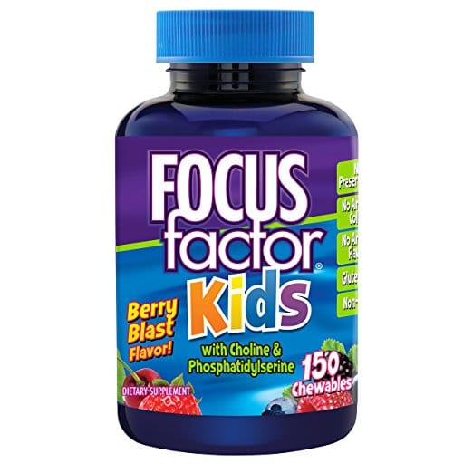 Focus Factor for Kids Dr Chuang